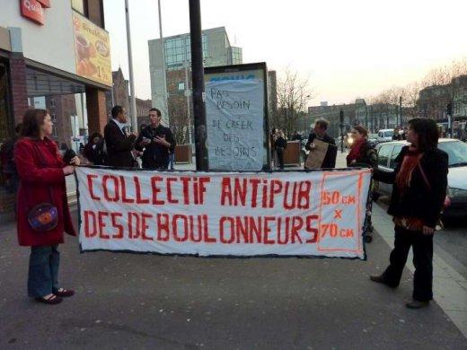 Action du collectif des d boulonneurs de lille 25 mars 2011 soutien aux d - Boulevard gambetta roubaix ...